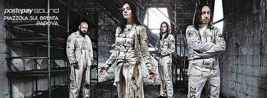 Postepay sound Lacuna Coil