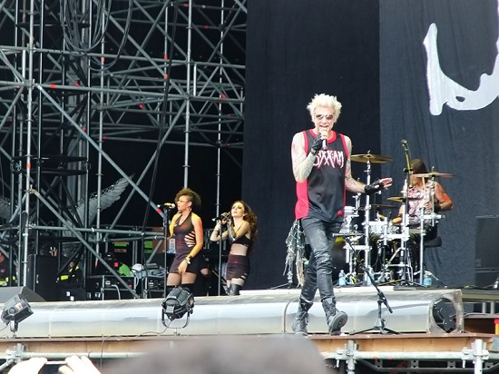SIXX AM Gods Of Metal 2016