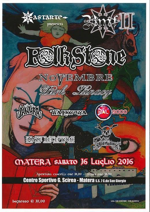 Basilicata Metal Fest Flyer