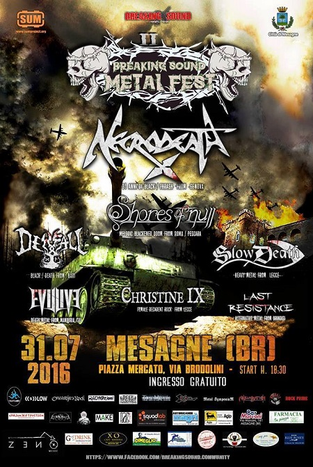 Breaking Sound Metal Fest