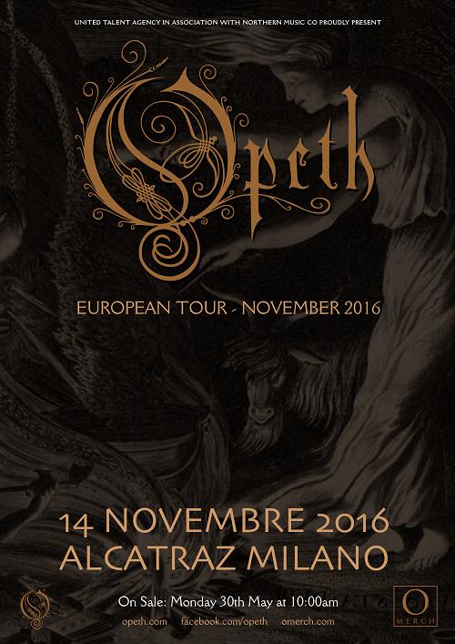 Opeth Alcatraz 2016