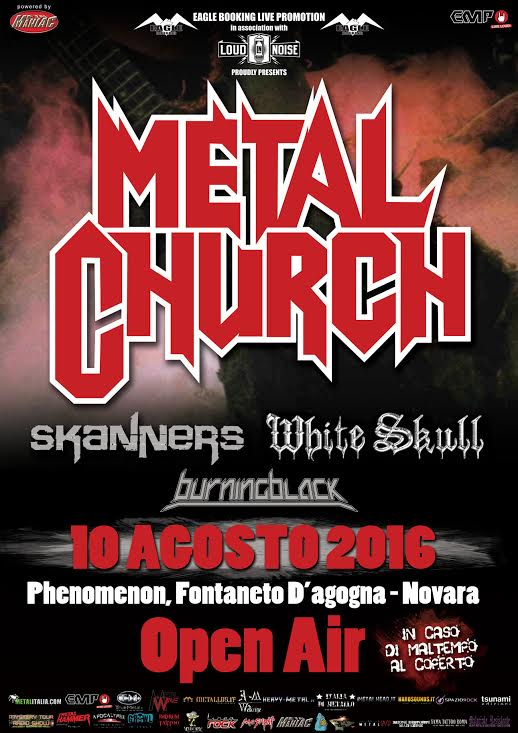 Metal church novara