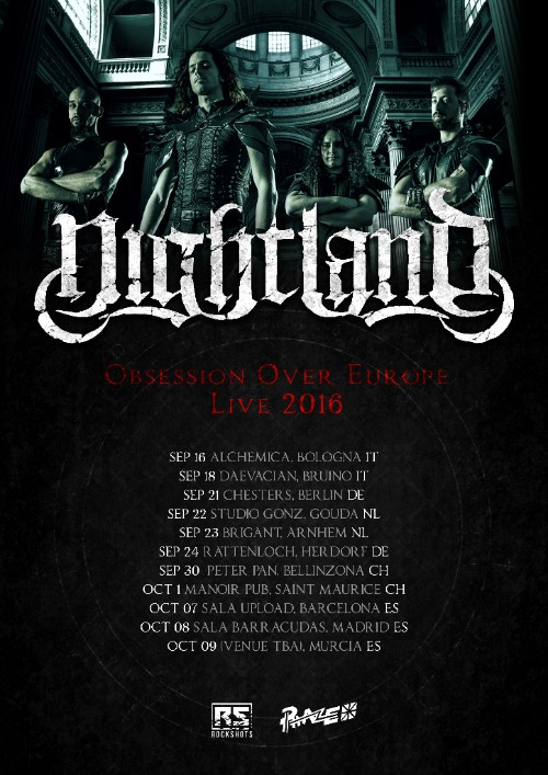 Nightland Obsession Over Europe tour
