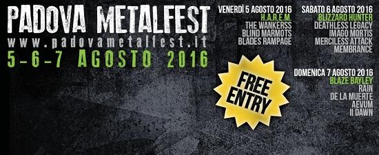 Padova Metal Fest 2016