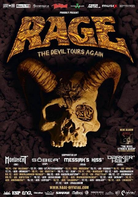Rage tour 2016 Midian Cremona