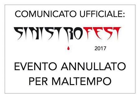 Sinistro Fest