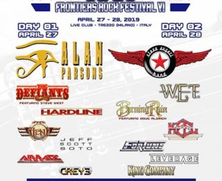 Frontiers Rock Festival VI : il bill definitivo
