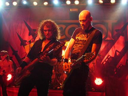 Live report Accept + Steelwing, Milano
