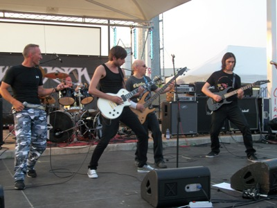 Live report Acciaio Italiano Festival - Rosae Crucis , Holy Martyr , Tarchon Fist , Crying Steel , Deathmechanism , Wyvern