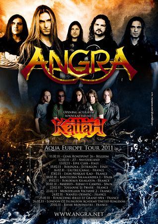 Live report Angra + Kattah - Bologna
