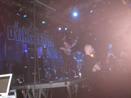 Live report Cannibal Corpse, Dying Fetus, Obscura, Evocation - Milano