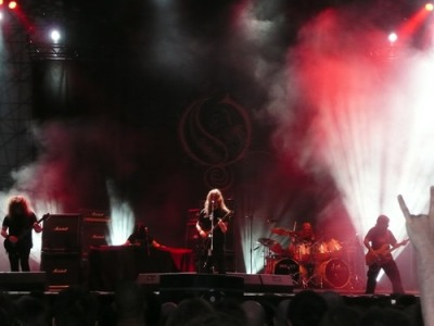 Evolution Festival 2008, In Flames, Opeth, Pain Of Salvation, Gamma Ray, Death Angel, Necrodeath, Novembre