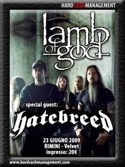 Live report Lamb Of God + Hatebreed, Rimini