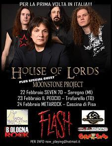 Live Report House Of Lords Concerto di Pisa Metarock