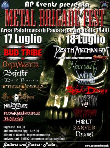 Live report Metal Brigade Festival - Pavia