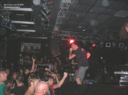 Live report Napalm Death + Cripple Bastards, Biella