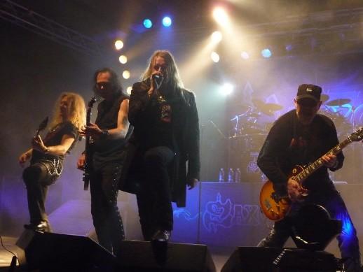 Live report Saxon, Bologna