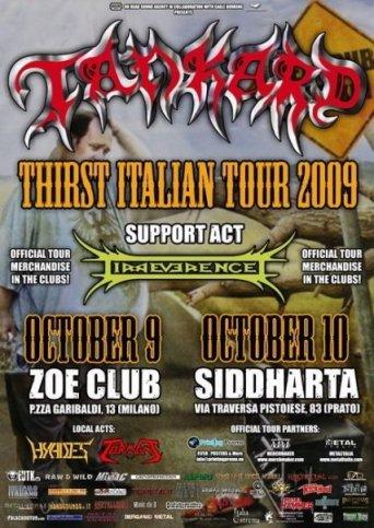 Live report Tankard + Irreverence, Milano e Prato
