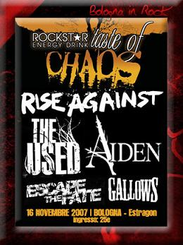 Live report Taste Of Chaos