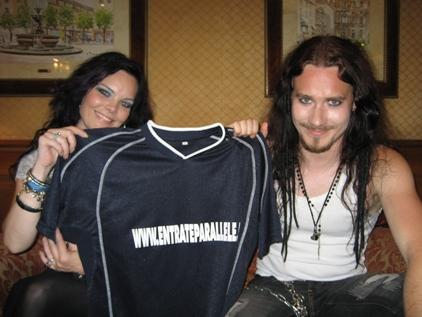 Intervista Nightwish, Tuomas Holopainen & Anette Olzon