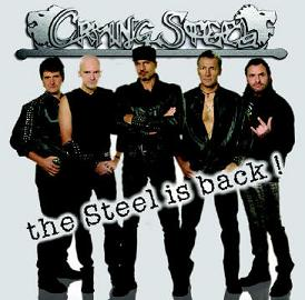 Intervista Crying Steel, copertina di The Steel is back!