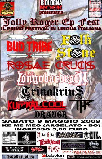 Jolly Roger EP Fest, Ke Me Meo, Argelato, Bologna